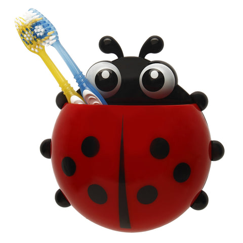 Lady Bug Toothbrush Holder - Red