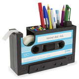 Rewind Desk Tidy - Blue-Stationery-PropShop24.com