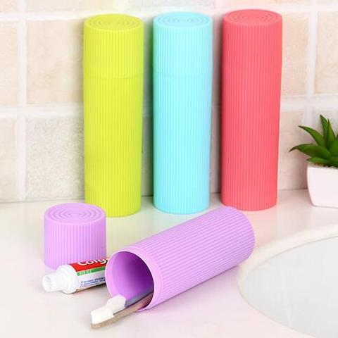 Travel Toothbrush Holder - Blue