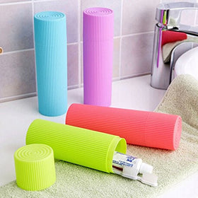 Travel Toothbrush Holder - Green-TRAVEL ESSENTIALS-PropShop24.com