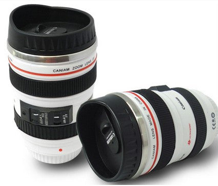 Camera Lens Mug - White-DINING + KITCHEN-PropShop24.com