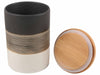 Set Of 3 - Brown Canisters-DINING + KITCHEN-PropShop24.com