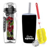Fruit Infuser Black Water Bottle - 1 Litre-DINING + KITCHEN-PropShop24.com