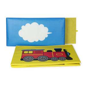 Foldable Storage Box - Red Train-HOME ACCESSORIES-PropShop24.com