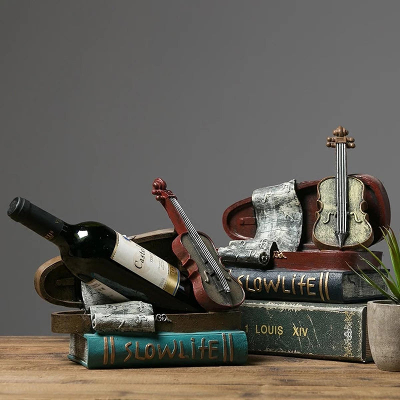 Violin Bottle Holder-BAR + PARTY-PropShop24.com