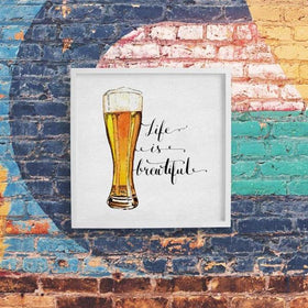 Life Is Brewtiful Frame-HOME-PropShop24.com