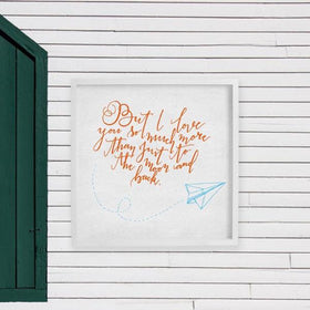 Love You So Much More Frame-HOME-PropShop24.com
