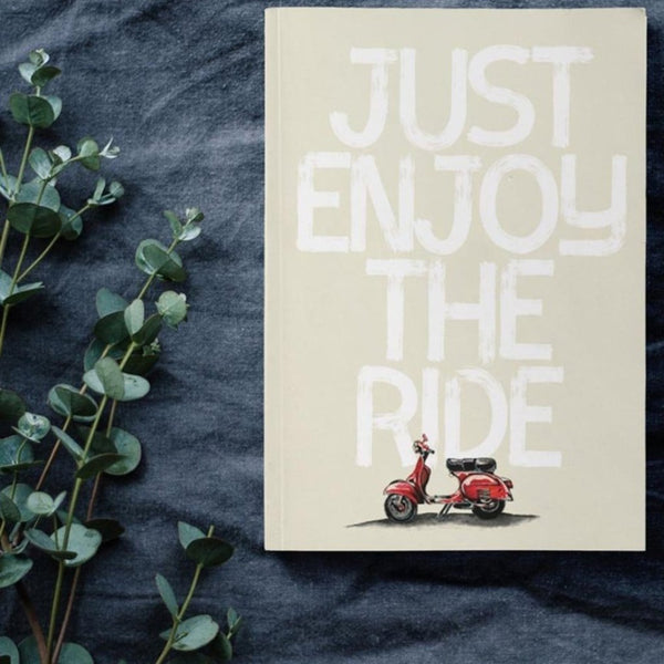 Diary - Just enjoy the ride-STATIONERY-PropShop24.com