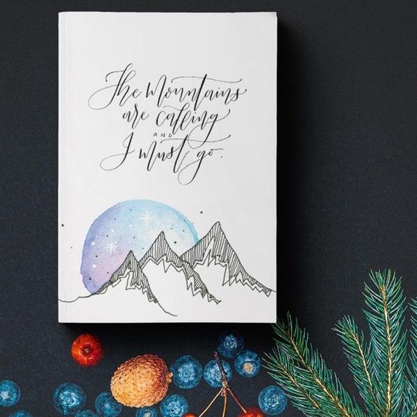 Diary - The mountains are calling-STATIONERY-PropShop24.com