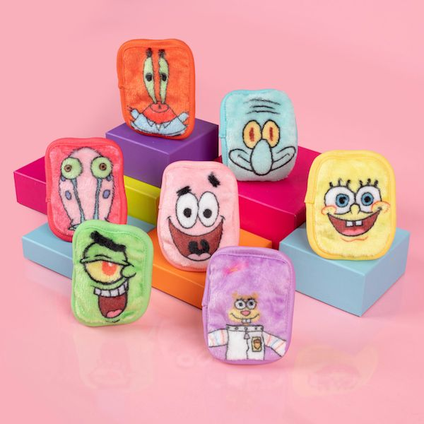 Make Up Remover Wipes - Spongebob - Set Of 7-WOMEN-PropShop24.com