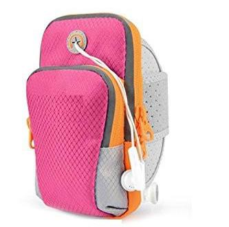 Waterproof Running Armband Pouch - Pink-Personal-PropShop24.com