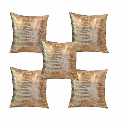 cushion covers - Gold Foil Printed - set of 5