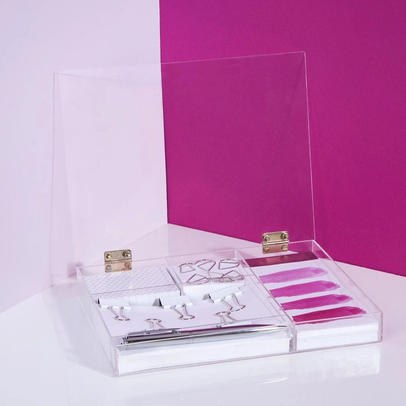Bougainvillea Stationery Kit-PENS + PENCILS + PAPER CLIPS-PropShop24.com