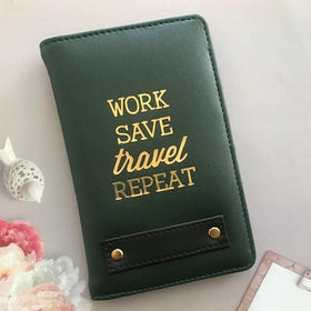 Personalized Passport Cover - Green - Work - C.O.D NOT AVAILABLE-FASHION-PropShop24.com