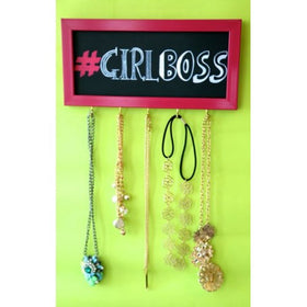 jewellery holder - Girl boss - Pink-Home-PropShop24.com