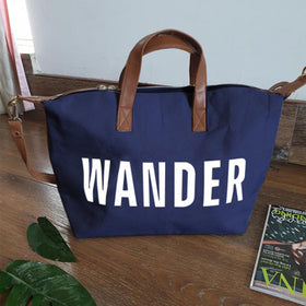 Duffle Bag - Wander - Blue-FASHION-PropShop24.com