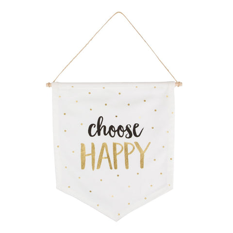 WALL bunting - CHOOSE HAPPY-HOME-PropShop24.com