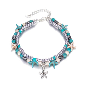 Anklet - Adorable Starfish Beads-ANKLETS-PropShop24.com