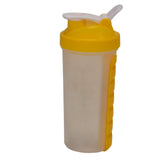 Shaker Bottle With Pill Box - Yellow-HOME-PropShop24.com