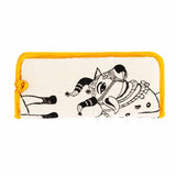 House of Masaba - Sunglasses Case - cow print - Yellow Piping-FASHION-PropShop24.com