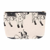 House of Masaba - Vanity Pouch - cow print-FASHION-PropShop24.com
