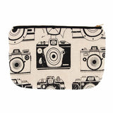 House of Masaba - Vanity Pouch - camera print-FASHION-PropShop24.com
