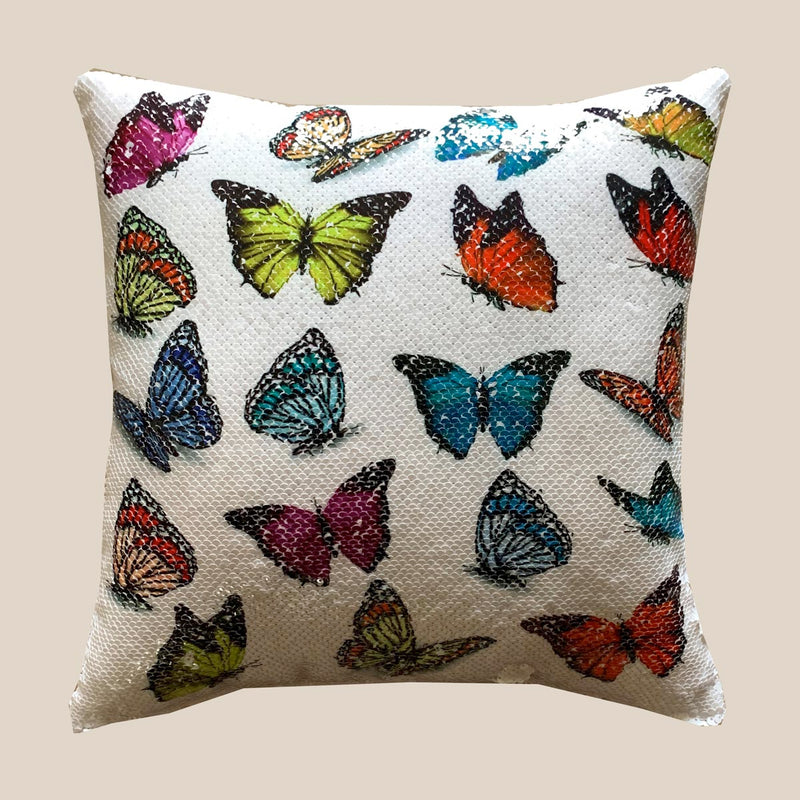 Cushion Cover - Butterfly-HOME ACCESSORIES-PropShop24.com