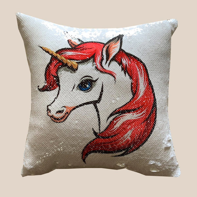 Cushion Cover - Unicorn-HOME ACCESSORIES-PropShop24.com