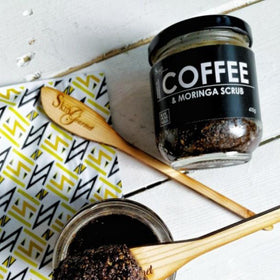 Face and Body Scrub - Coffee and Moringa Scrub-BEAUTY-PropShop24.com