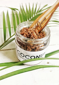 Face and Body Scrub - Coconut Exfoliating Salt-BEAUTY-PropShop24.com