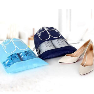 Shoe Bag (Set Of 2) - Blue-TRAVEL ESSENTIALS-PropShop24.com