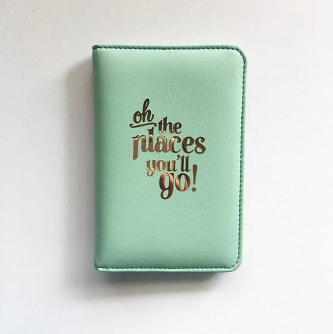 Oh the places - Teal Passport Cover-Fashion-PropShop24.com