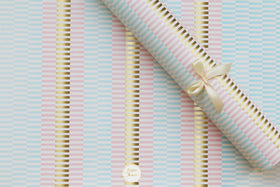 Gift Wrapping Paper - Pastel gold - Set of 5-STATIONERY-PropShop24.com