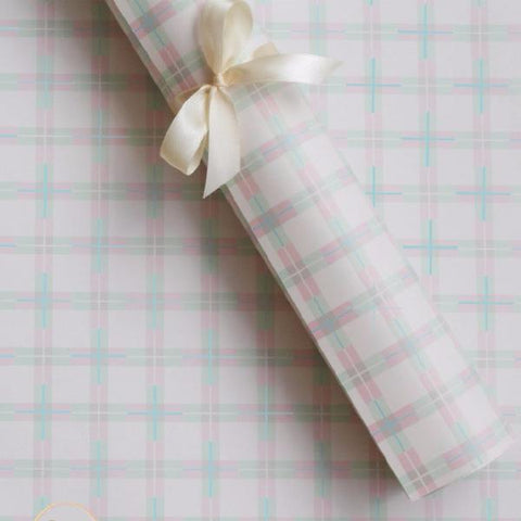 Gift Wrapping Paper - Criss cross Pastel - Set of 5-STATIONERY-PropShop24.com