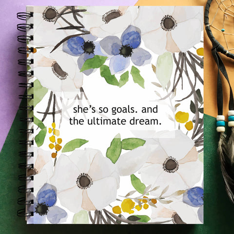 Planner - She's so goals-PropShop24.com