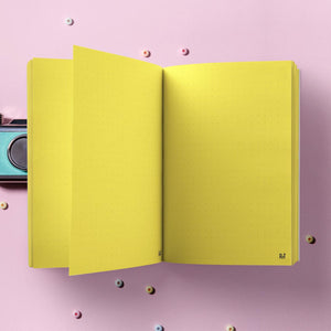 Diary - Never Too Late - Yellow-NOTEBOOKS + JOURNALS-PropShop24.com