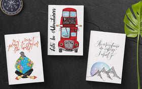 Pocket Diaries - The Wanderlust Collection-STATIONERY-PropShop24.com