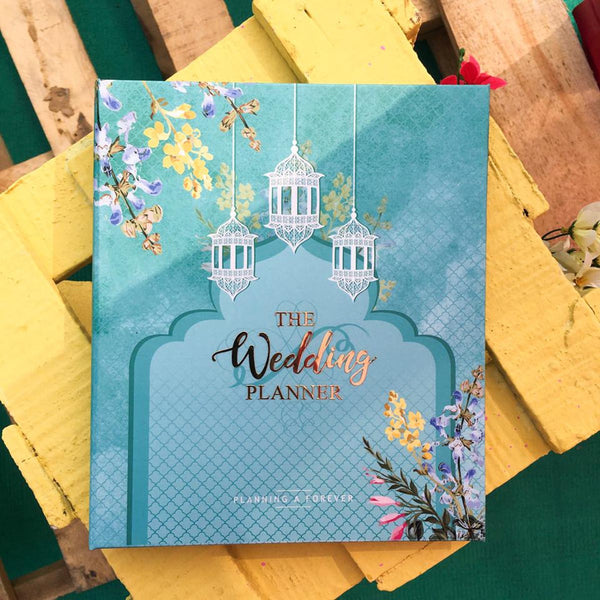 Wedding Planner - Sea Green-STATIONERY-PropShop24.com