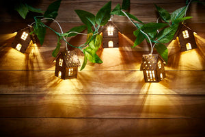 Wooden LED Lights - House Shaped-HOME ACCESSORIES-PropShop24.com