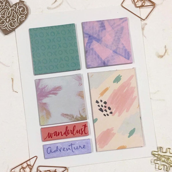 Wanderlust - Sticky Notes (Set of 6)-STATIONERY-PropShop24.com