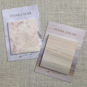 Sticky Notes - Stone Marble-STATIONERY-PropShop24.com