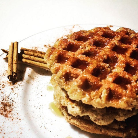 Cinnamon Waffle with Honey Twigs-PropShop24.com