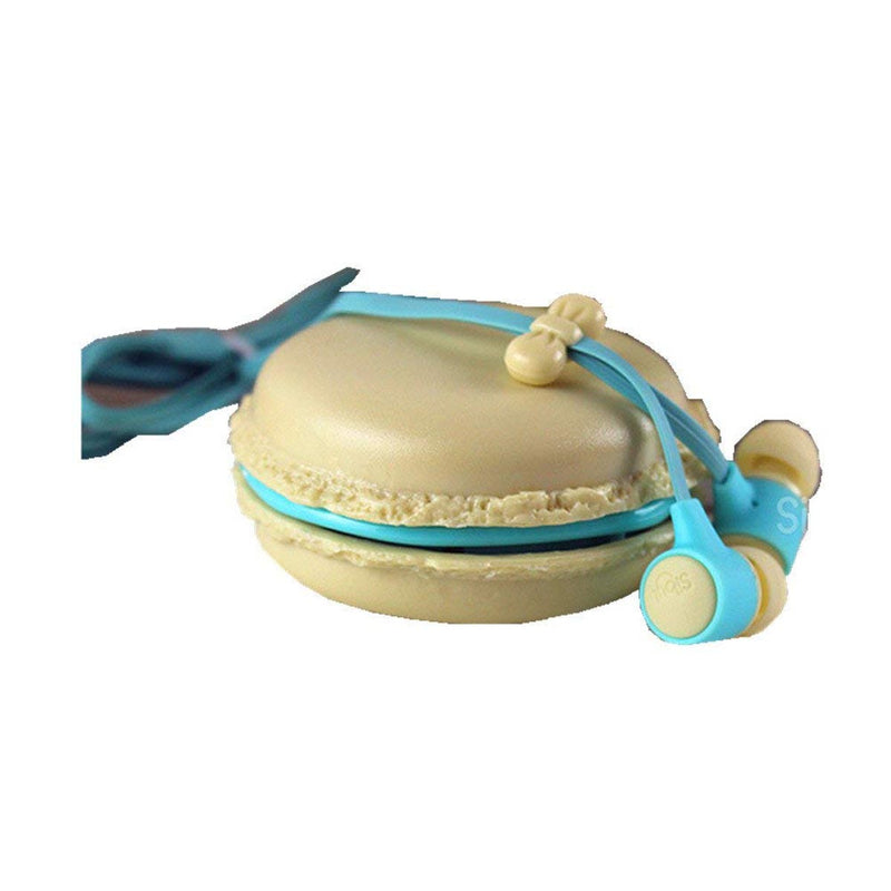 Macaroon Earphones With Case-GADGET ACCESSORIES-PropShop24.com