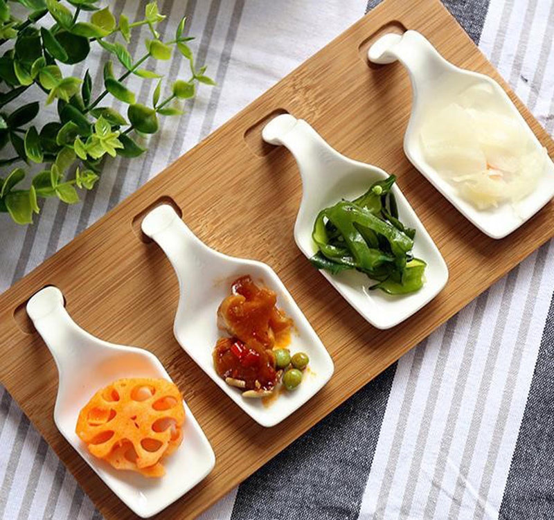 Appetiser Server With Bamboo Tray-DINING + KITCHEN-PropShop24.com