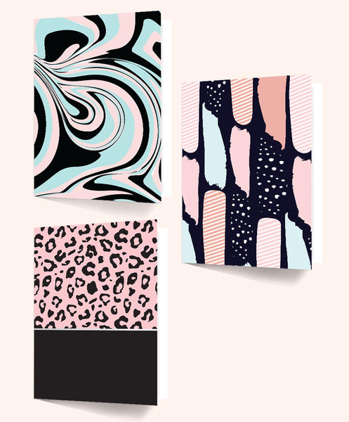 Folders Abstract Vision File - A4 Size - Set Of 3-Stationery-PropShop24.com