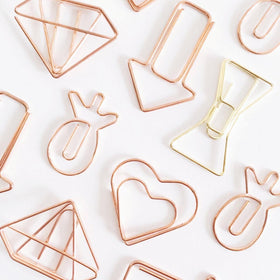 Paper Clips Assorted All in One - Set of 8-Stationery-PropShop24.com