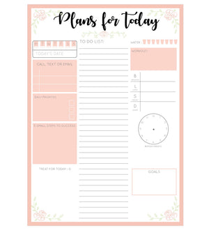My Daily Planner | A5 Size-NOTEBOOKS + JOURNALS-PropShop24.com