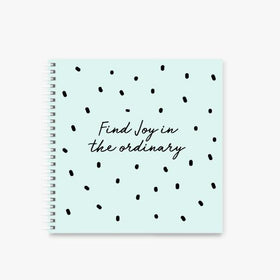 "Notebook-Find Joy square Spiral Notebook - 8 x 8 ""-STATIONERY-PropShop24.com"