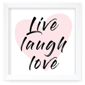 Love Life Wall Art with Frame-HOME-PropShop24.com