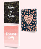 Folders Make Things Happen File - A4 Size - Set Of 3-Stationery-PropShop24.com